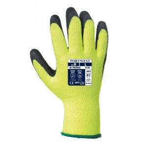 Portwest A140 thermische latex handschoen met grip