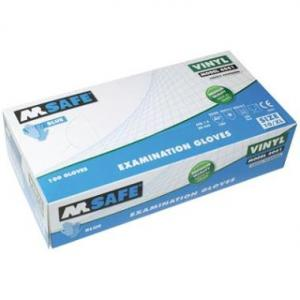 M-Safe 4061 disposable vinyl handschoen