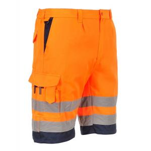 Portwest high vis korte broek type E043