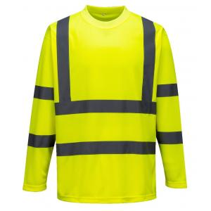 Portwest High vis t-shirt lange mouw S178