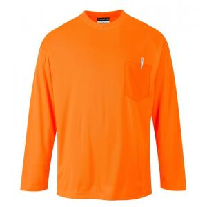 Portwest High vis t-shirt lange mouw S579